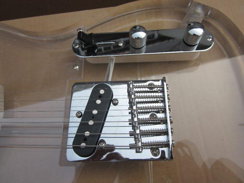 Crystal Fender Telecaster (9/10)