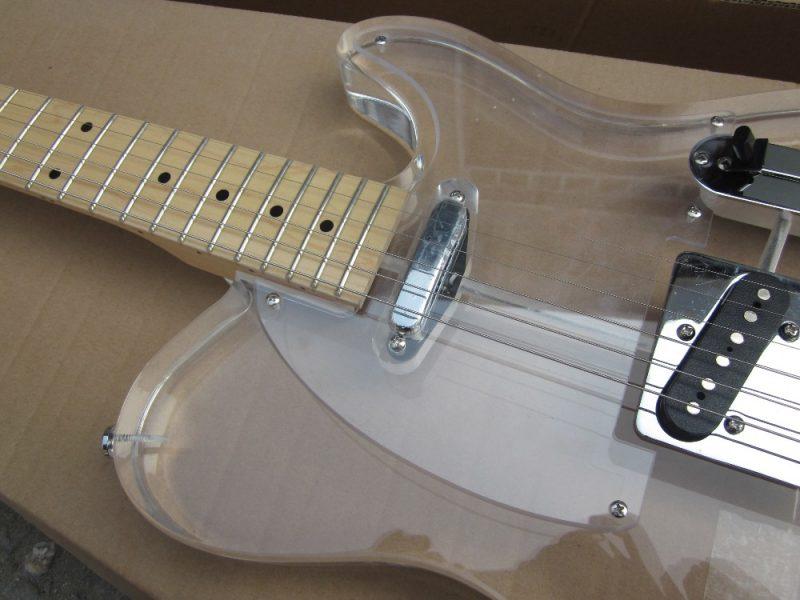 Crystal Fender Telecaster (10/10)